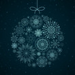 Vector Illustration of an Elegant Christmas Background