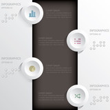 Infographics Design Template Banner and Background