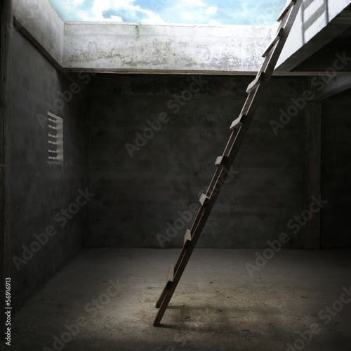Stair for out of the room