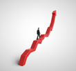 climbing a red graph