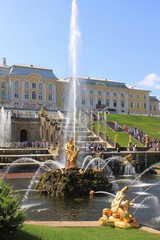 Fountains of Peterhof, Russia