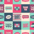 Thank You Seamless Pattern