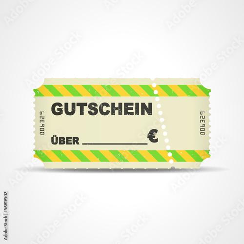 ticket v3 gutschein ueber _ euro I