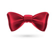 Bow tie, red