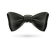 Bow tie, black