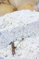 Cheese with dill