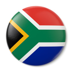 South Africa Pin-back