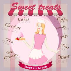sweet treats with girl