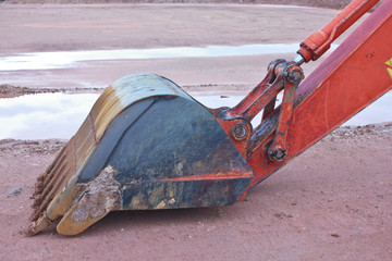Backhoe Claw bucket