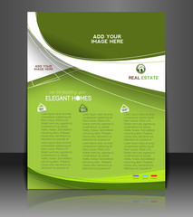 Vector Real Estate Back Flyer Design