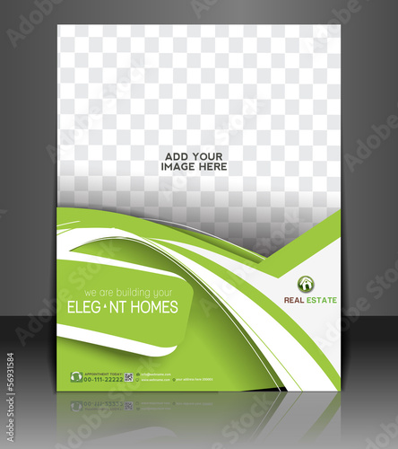 Vector Real Estate Front Flyer Design