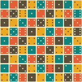 domino seamless pattern
