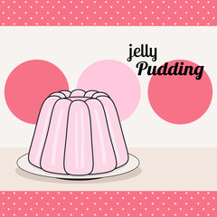 retro pudding card