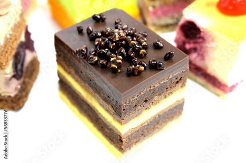 Mini cake delicious