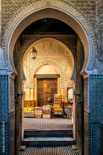 Fotobehang Marokko Fes