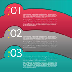 Abstract Modern Banners Vector With Number.EPS 10