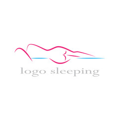 Vector 	Logo ergonomic mattress