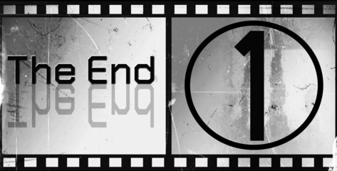 The end Movie ending screen