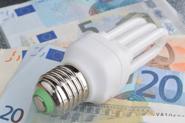 Euro energy saving E27
