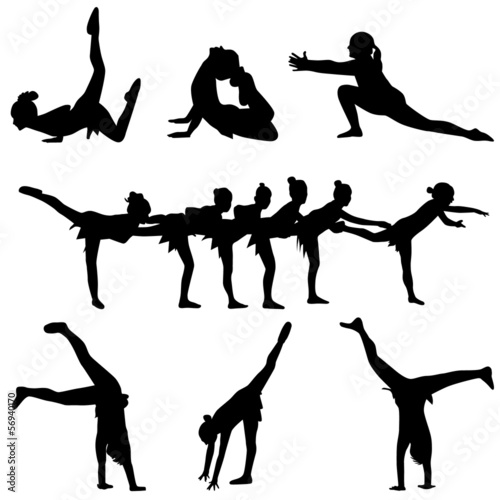 dance and gymnastics people