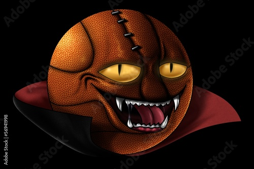 Halloween Basketball-Graf