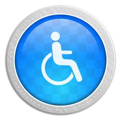 Button Rollstuhlfahrer