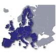 Europa und seine EU Mitglieder