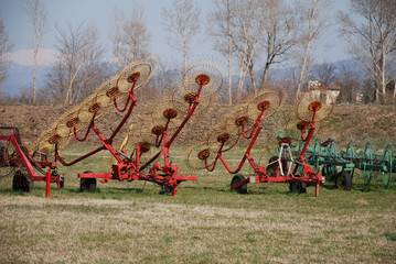 Hay Rake Display