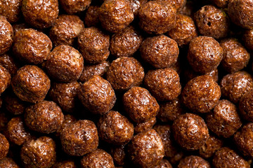 chocolate cereal balls
