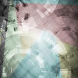 Abstract tech vector design