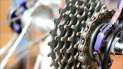 Gear bike.