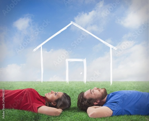 Couple who dream of a home