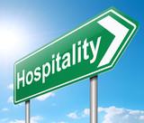 Hospitality concept.