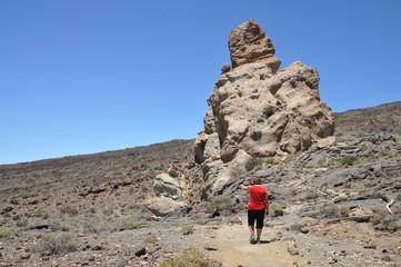 Wandern an den Roques de Garcia, Teneriffa