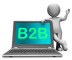 B2b Laptop And Character Shows Trading And Commerce Online
