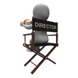 Director Character Shows Hollywood Movie Directors Or Filmmaker