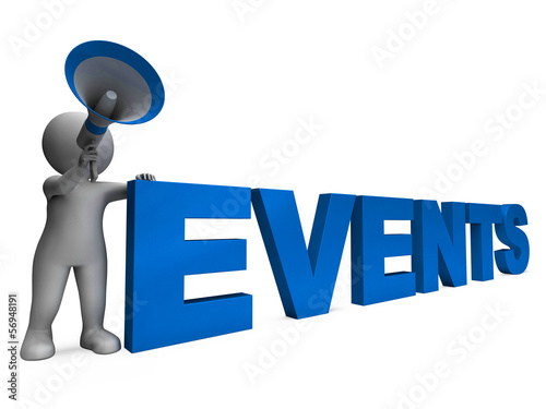 Events Character Means Concert Occasion Events Or Functions