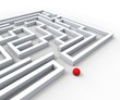 Complicated Maze Shows Complexity And Challenges