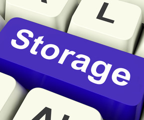 Storage Key Means storage Unit Or Storeroom.