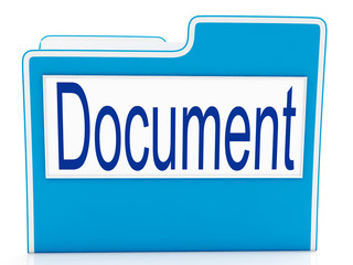 Document On File Meaning Organizing And Paperwork