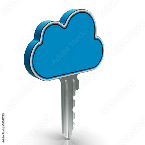 Cloud Computing Key Shows Internet Security