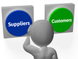 Suppliers Customers Buttons Show Supplier Or Distributor