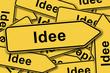 Idee, Schilderhaufen