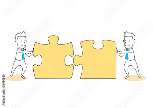 solve puzzle and solution together