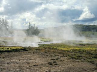 Geysire auf Island