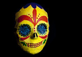 Day of the Dead Festival mask