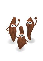 Happy sweet potatoes
