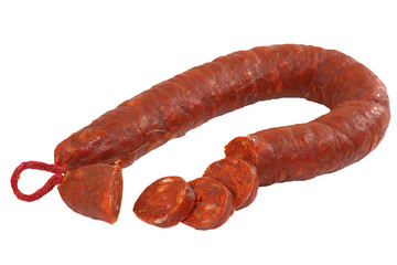 sliced chorizo