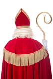 Sinterklaas from the back