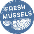 Button Fresh mussels